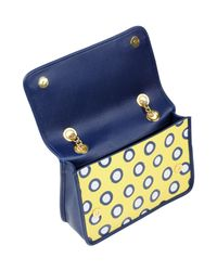 Boutique Moschino - Yellow Cross-body Bag - Lyst