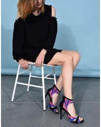 Jolie By Edward Spiers | Black Sandals | Lyst