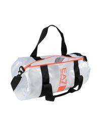 EA7 - Black Travel & Duffel Bag for Men - Lyst