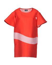 Kor@kor - Red Short Dress - Lyst