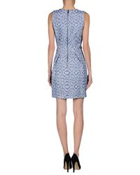 Matthew Williamson - Blue Short Dress - Lyst