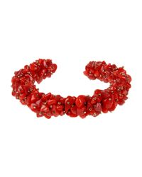 Isabel Marant - Red Bracelet - Lyst