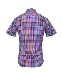 BOSS Green - Purple Shirt for Men - Lyst
