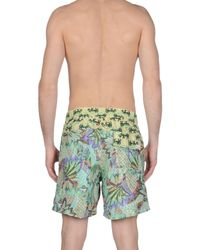 Maaji - Green Swimming Trunks for Men - Lyst