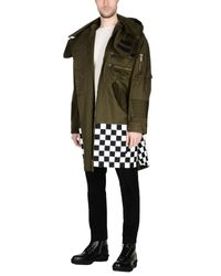 DSquared² - Green Overcoats for Men - Lyst