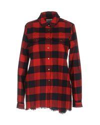 Zoe Karssen - Red Shirt - Lyst