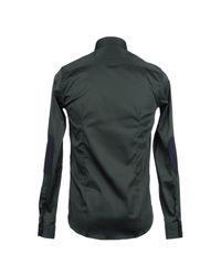 Aglini - Green Shirt for Men - Lyst