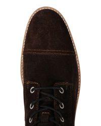 Napapijri - Brown Ankle Boots for Men - Lyst