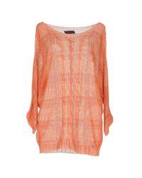 Trussardi - Orange Sweaters - Lyst