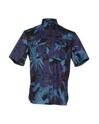 Markus Lupfer - Blue Shirt for Men - Lyst