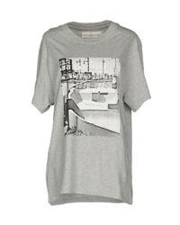 Golden Goose Deluxe Brand - Gray T-shirt - Lyst