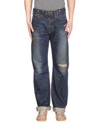 PRPS Blue Denim Pants for men