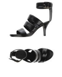 Alexander Wang - Black Sandals - Lyst