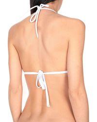 Heidi Klein - White Bikini Top - Lyst