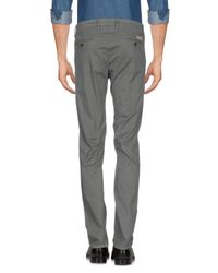 Jeckerson - Gray Casual Trouser for Men - Lyst