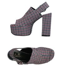 Mulberry - Red Sandals - Lyst