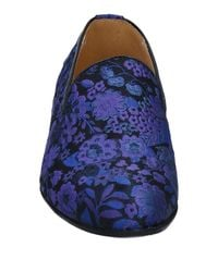 Alberto Moretti - Blue Loafer for Men - Lyst