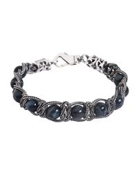 Emanuele Bicocchi - Metallic Bracelets for Men - Lyst