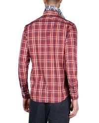 Napapijri | Red Long Sleeve Shirt for Men | Lyst