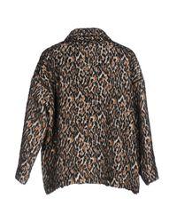 Jucca - Brown Coat - Lyst