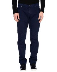 Etro - Blue Casual Pants for Men - Lyst