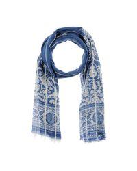 Roda - Blue Oblong Scarf for Men - Lyst