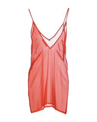 Amen - Red Short Dresses - Lyst