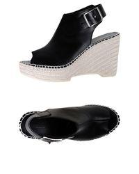 McQ Alexander McQueen Black Espadrilles