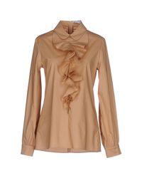 Vivetta - Natural Shirt - Lyst