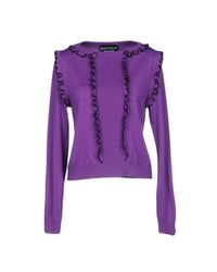 Boutique Moschino - Purple Sweater - Lyst