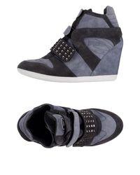 Alberto Guardiani - Gray High-tops & Sneakers - Lyst