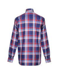 Paul & Shark Blue Shirt for men