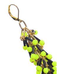 Longshaw Ward - Yellow Dangle Earrings - Lyst