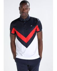 J.Lindeberg | Red Arvid Reg Polo Shirt for Men | Lyst