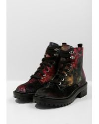 Madden Girl | Black Alice Lace-up Boots | Lyst