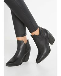 A.s.98 | Black Ankle Boots | Lyst