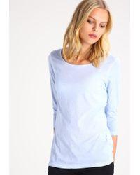 BOSS Orange | Blue Tasfias Long Sleeved Top | Lyst