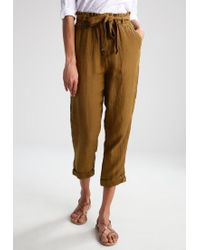 Free People | Brown Trousers | Lyst