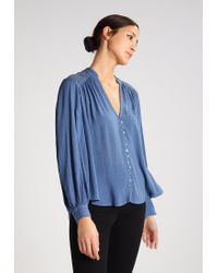 Free People | Blue Canyon Rose Shirt | Lyst