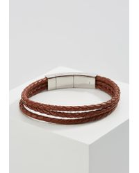 Fossil | Brown Bracelet for Men | Lyst