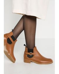 HUGO | Brown Eddy-g Ankle Boots | Lyst