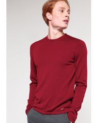 HUGO | Red San Paolo Jumper for Men | Lyst