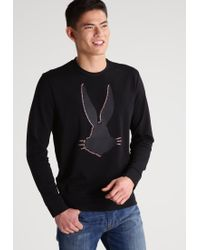 Iceberg | Black Sweatshirt for Men | Lyst