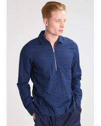 J.Lindeberg | Blue Daniel Slim Fit Shirt for Men | Lyst