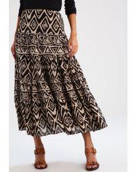 Lauren by Ralph Lauren   Brown Moriah Maxi Skirt   Lyst