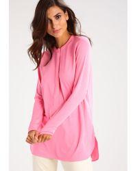 Lauren by Ralph Lauren | Pink Suzette Long Sleeved Top | Lyst