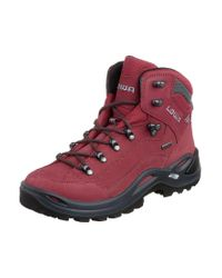 Lowa   Red Renegade Gtx Mid Walking Boots for Men   Lyst