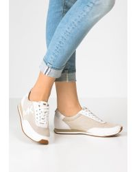 MICHAEL Michael Kors | Natural Stanton Trainers | Lyst
