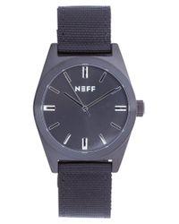 Neff   Black Nightly Watch for Men   Lyst