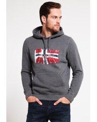 Napapijri | Gray Bardesi Sweatshirt for Men | Lyst